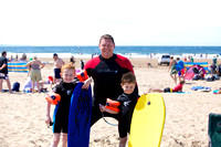 Croyde Surfing 2012